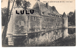 DEPT 52 : Dinteville , Le Chateau Coté Ouest - Frankreich