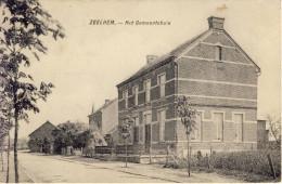 Zeelhem Halen Het Gemeentehuis ( En Omgeving) 1914 - Halen