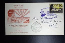 Nederlandse Antillen  FDC E1  NVPH Nr 261 1957 Open Flap. - Curaçao, Nederlandse Antillen, Aruba