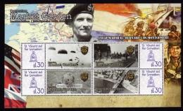 WWII, World War II, Operation Market Garden S/Sheet St Vincent Mnh. - Seconda Guerra Mondiale