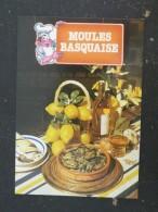 RECETTE CUISINE PAYS BASQUE - MOULES BASQUAISE - Küchenrezepte