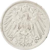 Allemagne, Empire, Guillaume II, 1 Mark, 1906 J, KM 14 - [ 2] 1871-1918: Deutsches Kaiserreich