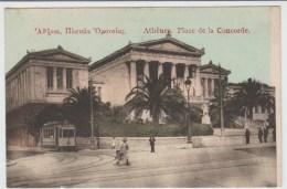 ATHENES (GRECE) - PLACE DE LA CONCORDE - Grecia