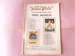 LES PIEDS NICKELES - Les Pieds Nickelés Cinéastes, Douaniers, Pharmaciens - N°44 - Pieds Nickelés, Les