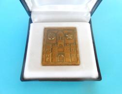 SPLIT ... Coat Of Arms - Croatia Beautifull Bronze Plaque In Original Box * Croatie Kroatien Croacia - Coins & Banknotes