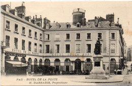 PAU -  Hotel De La Poste - H. Dabbadie Propriétaire - Café De L' Union  (90497) - Pau