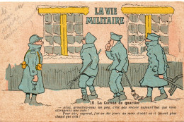 7315. CPA MILITAIRES ILLUSTRATEUR HUMOUR. LA CORVEE DE QUARTIER... - Humoristiques
