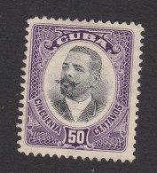 Cuba, Scott #245, Mint No Gum, Maj Gen Antonio Maceo, Issued 1910 - Kuba