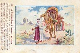 CPA LA LOCOMOTION A TRAVERS LES AGES  - Le Chameau - Cartes Postales