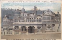 Arkansas Hot Springs New Imperial Bath House Curteich