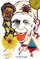 CPM ZAVATTA Et GROCK Clown Cirque Circus Cirk Franc-Maçonnerie Masonic Tirage Limité LENZI - Lenzi