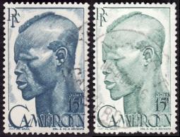 CAMEROUN   1946  -    Y&T   292    - 2 Nuances -  Oblitérés - Oblitérés