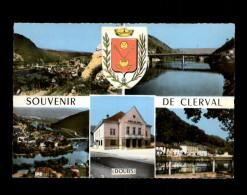 25 - CLERVAL - Multi Vues - Autres Communes