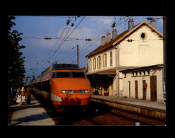 25 - FRASNE - Gare - Train - TGV - France