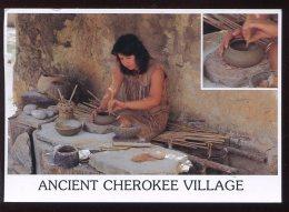 CPM Etats Unis TAHLEQUAH Oklahoma The Making Of Cherokee Ancient Pottery - Etats-Unis