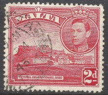 Malta. 1938-43 KGVI. 2d Red Used SG 221b - Malta