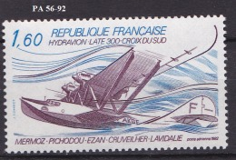 FRANCE POSTE AERIENNE N° 56*** - 1927-1959 Postfris