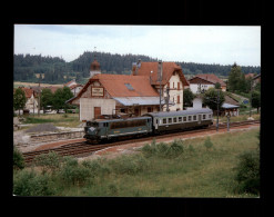 25 - VAUX-ET-CHANTEGRUE - Train - Gare - France