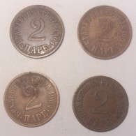 Serbia 2 Para 1904 (Price For 1 Coin) - Serbia
