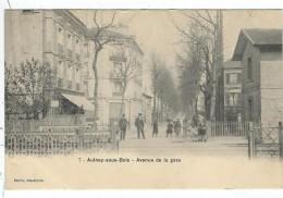 Seine St Denis : Aulnay Sous Bois, Avenue De La Gare, Passage A Niveau, Precurseur - Aulnay Sous Bois