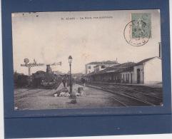 ALAIS  ( GARD )  N ° 26  La Gare - Vue Interieure - Alès