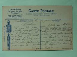 CARTE FANTAISIE , Les Sports , La Pêche , Illustrée Par Charles Beauvais , Publicité Au Verso - Phantasie