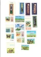 SAMOA ESEMPLARI VARI 17 VALORI Cod.fra.398 - Samoa