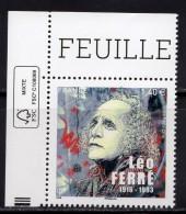 France 2016.Léo Ferré.** - Neufs