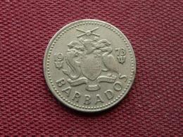 BARBADE Monnaie De 25 Cents 1973 - Barbades