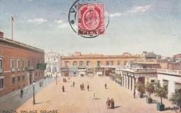 Malta  - Palace  Square  - Scan Recto-verso - Malte