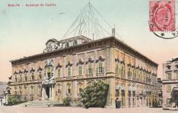 Malta  - Auberge De Castile - Scan Recto-verso - Malte
