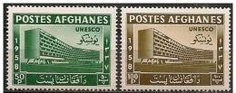 Afghanistan: Nuova Sede UNESCO, New Headquarters UNESCO, Nouveau Siège De L'UNESCO - UNESCO