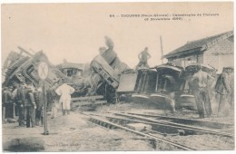 THOUARS - Catastrophe De Chemin De Fer 1899 - Thouars