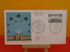 FDC - Anniversaire De L'école De L'air - Paris - 6.11.1965 - 1er Jour, Coté 2,20 € - FDC
