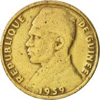 Guinea, 10 Francs, 1959, TB+, Aluminum-Bronze, KM:2 - Guinée
