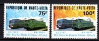 Haute-Volta N° 508 / 09 XX    Record Du Monde De Vitesse : Locomotives Françaises Les 2 Valeurs Sans Charnière, TB - Upper Volta (1958-1984)