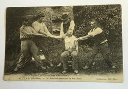 MUZILLAC Un Rebouteux Remettant Un Bras Démis 1906 - Santé