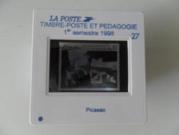 DIAPOSITIVE LA POSTE 27 - 1er Semestre 1998 : PICASSO NOUVEAUTE RARE - Diapositives