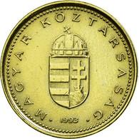 Monnaie, Hongrie, Forint, 1993, Budapest, TTB, Nickel-brass, KM:692 - Hongrie