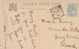 1906 SQUARED  CIRCLE CANCELLATION  -ROCHESTER - Storia Postale