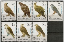 Ungheria/Hongrie/Hungary: Uccelli Da Preda, Oiseaux De Proie, Birds Of Prey, W.W.F. - W.W.F.