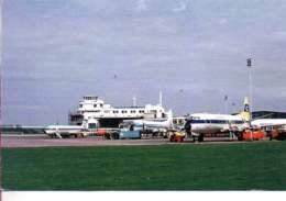 Birmingham Airport  G-AXLM G-ASED  G-APND Airwork Ltd Viscount 402 - Aerei