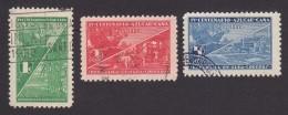 Cuba, Scott #337-339, Used, Cuban Sugar Cane, Issued 1937 - Cuba