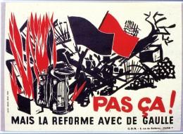 Thème Général De Gaulle - De Gaulle Sur Les Murs De France - N° 93 - R 2460 - Personaggi Storici