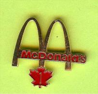 Pin Mac Do McDonald´s Canada Feuille D´Érable 1 Année De Service - 5B07 - McDonald's