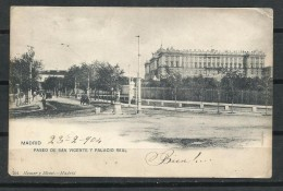 Paseo De San Vicente Y Palacio Real. - Madrid