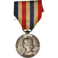 France, Médaille D'honneur Des Chemins De Fer, Railway, Medal, 1966 - Militari