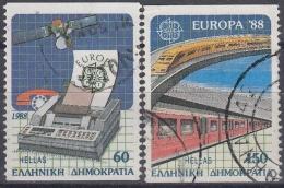 Grecia 1988 Nº 1667/68  Usado - Usados