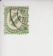 Noord-Ingermanland Michel-cataloog 1 Gestempeld Kirjasalo - 1919 Occupation Finlandaise