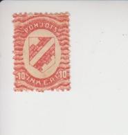 Noord-Ingermanland Michel-cataloog 2 * - 1919 Occupation Finlandaise